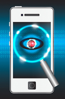 investigator cell phone spying