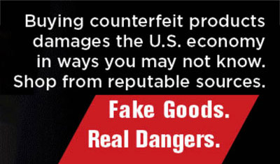 Counterfeit Goods Support Criminal Activity